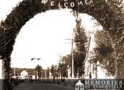 Archway over Main Street for Royal Visit in 1939