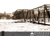 Main River Bridge during the Flood of 1923