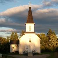 Our Lady of Mount Carmel Church in Howard, NB, Canada