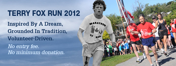 Terry Fox Run at Blackville Park