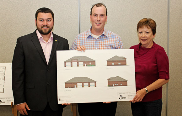 Blackville Fire Hall Unveiled
