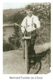 Bernard Tucker as a boy