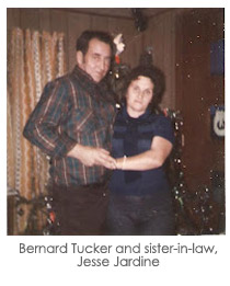 Bernard Tucker and sister-in-law, Jesse Jardine
