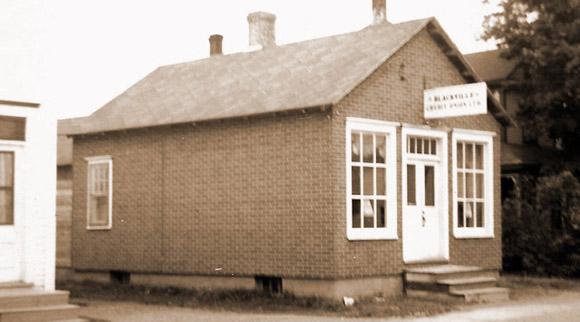 Blackville Credit Union building