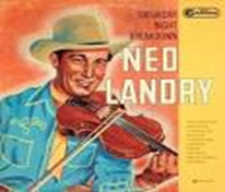 Album cover for 78 rpm record album of tunes by popular fiddler Ned Landry