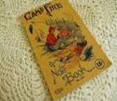 The Campfire notebook was a very popular school supply item in the 1950s
