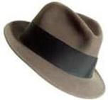 Dad's dress-up fedora hat