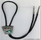 A western bolo tie, like the one I bought for Dad