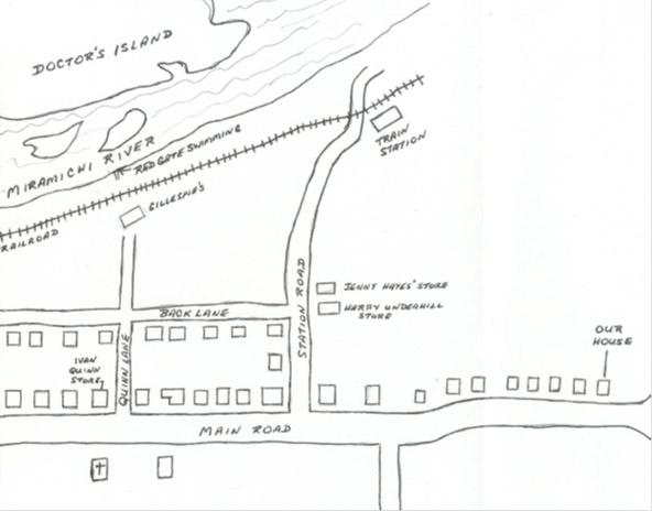 Blackville map