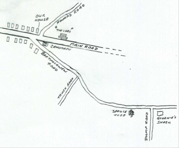 Map of Blackville