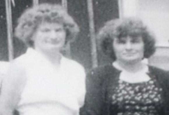 Mom and my dear Aunt Greta