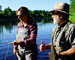 Locals Featured in Fishing Series Shorelines