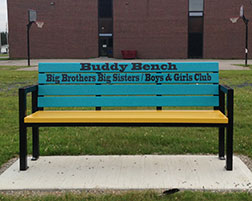 Blackville School Receives New Buddy Bench